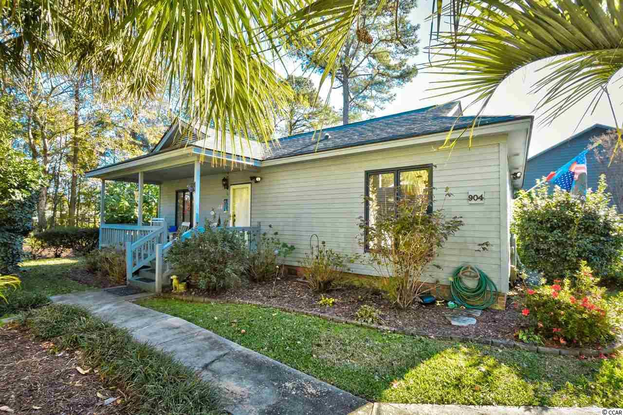Take a look at this rare listing in Jamestown Colony in Murrells Inlet yet minutes away from Myrtle Beach. This 2 bed house has a huge master bedroom with a rare large walk in closet also. Features all new AC just replaced in 2018. With easy access to Hwy 17 Business and a straight drive to the beach from there. This area sells quick, especially in this price range. Don't miss your chance to book your private showing.