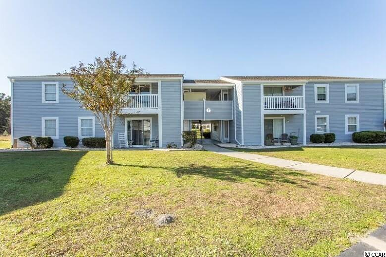 Condo has been totally redone with granite, stainless steel appliances, new flooring etc. Screened porch with attached storage.   Great location, close to beach.  Only 1/2 mile to ocean. HOA covers almost all expenses.  Owner responsible for just HO6 , unit electric  and internet.  There is a private pool for residents on the property.