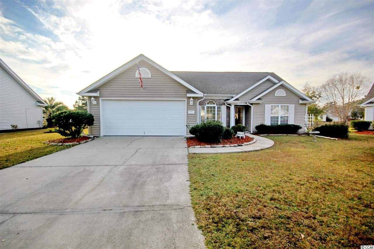 Hillsborough offers a variety of amenities, sidewalk, and convenience to all things Myrtle Beach has to offer.   This ranch style 3 bedroom 2 bath is located on a cul-de-sac and the back yard has a beautiful pond. Enjoy outdoor dining and bbq's on the patio while over looking wildlife on the pond.   Entertaining at it's finest for this home boast a spacious open concept. The kitchen includes a bar, eat in area, and built in desk. The den located within the kitchen offers vaulted ceilings and a large sliding door that will lead you directly to the back yard. The formal dining room and living room offer additional space for entertainment. The master bedroom includes vaulted ceilings, walk in closet, shower, and separate soaking tub. Hurray!   Call today for this deal won't last long!