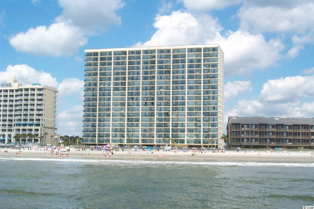 This is your place for great Oceanfront living in this 3 bed 3bath fully furnished  condo located on the 5th floor of the parking deck Just drive up and park in front of your condo With steps to Main Street and all it's shag clubs, dining, music and shopping gives you a lot of options not counting out the steps to the BEACH or enjoying the views from your Balcony. Also waiting are the great amenities including the indoor, outdoor, kiddie pools, lazy river and oversize hot tub! This condo has rental potential