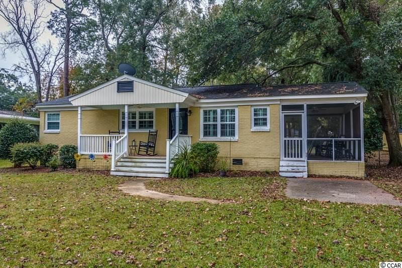 This is a great opportunity to own a home east of Business 17 in Surfside Beach. Significant remodeling done in 2010 including new electrical wiring, updated plumbing, some interior structural changes, new screen porch (flooring  structure in place if you wanted to add more heated square footage) new roof, windows, paint, and significant exterior landscaping. Custom plantation blinds throughout the home. All on a lot that is over a third of an acre! 150'x105'! Single car garage in back of the home with electricity plus a storage shed! And just a few blocks to the beach! Come see it today!