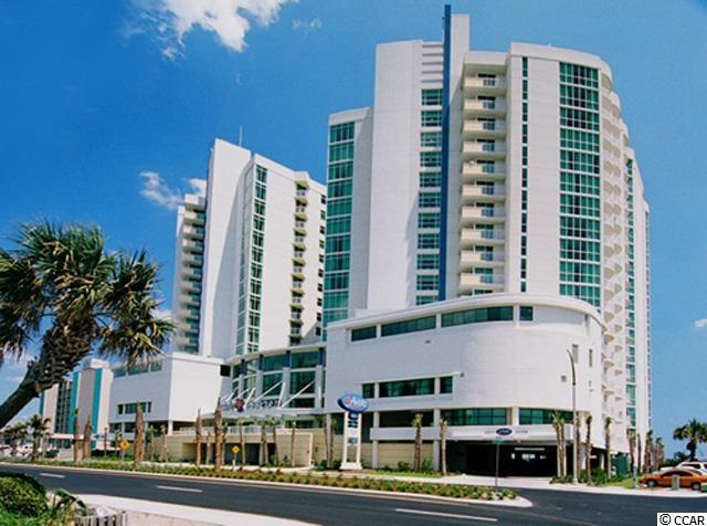 This 1 bed/1 Bath ocean view condo at the Avista Resort is a corner unit. This condo offers great views with its spacious balcony, an upgraded kitchen that has full size appliances as well as granite counters. The resort has outdoor and indoor pools including a lazy river, fitness center, and perfectly located near dining and shops in North Myrtle Beach.