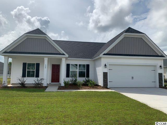 Come live in a peaceful and amazing community where living is easy, price is affordable, and access to the beach is quickly provided by the new 4 lane International Drive that connects Highway 90 to the beach. The Wisteria E (Lot 300 ) floor plan is one of 8 plans being offered within the Hillsborough Community. The Wisteria is an open, split bedroom,  one story plan with a nice size rear covered porch. This featured home comes well appointed with quartz  countertops in the kitchen and baths, low-maintenance Luxury Vinyl tile, a fireplace builtin bookshelves and cabinets, a tile shower in the owner's suite and so much more!
