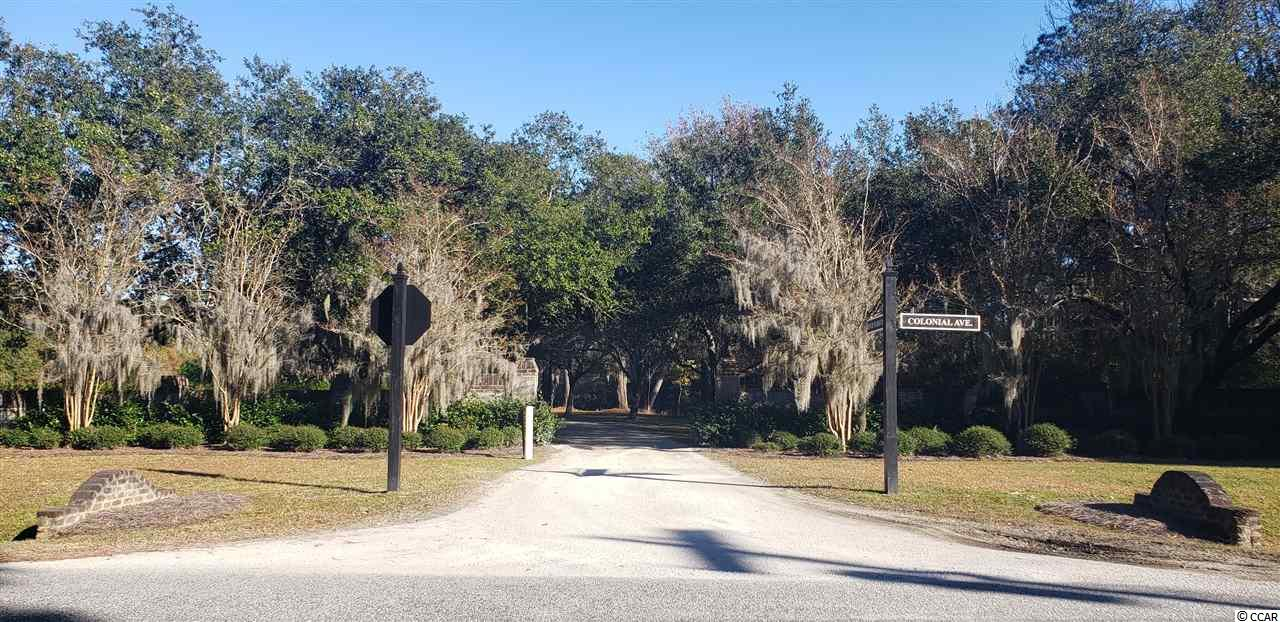 Welcome to Kensington Plantation. A gated historical community with beautiful live oak trees covered in moss. Own your own piece of history on this former rice plantation dating back to 1750.  This lot backs up to a lake with a small stream in the front. Recently cleared so you can see the true beauty in what this lot has to offer. There is a dock and boat ramp available to owners on The Great Pee Dee River where you can boat down to the marina in Georgetown at Winyah Bay and spend your afternoon at the wonderful restaurants and shops. Or if you choose you can head out on the Waccamaw River that is a part of the Intercoastal Water Way for an adventure. Wedgefield Country Club is located about 4 miles north off 701. If you are looking for peace and serenity this is the perfect place to build your home.