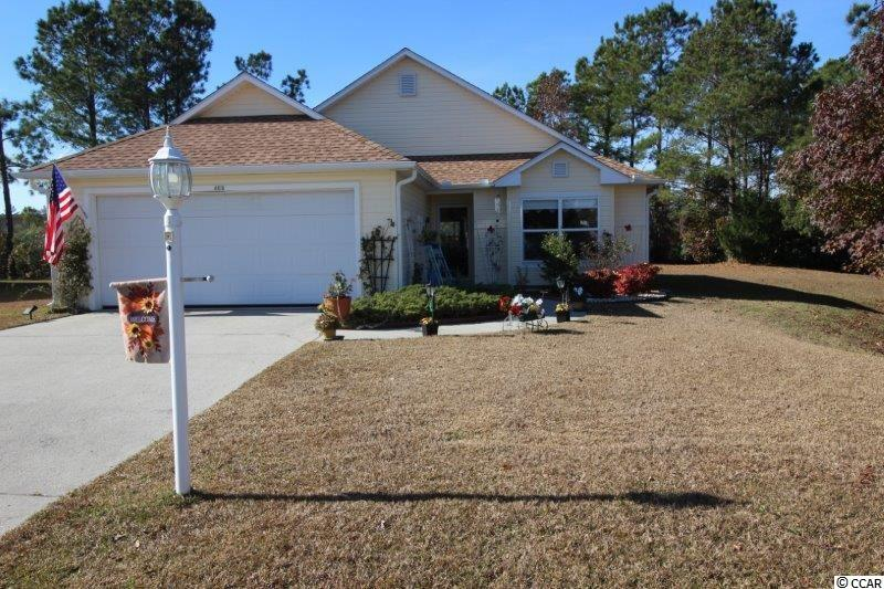 Beautiful, well maintained, home in The Retreat in Little River is ready for a new owner.  This pond front ranch, three bedroom, two bath home is on a split-bedroom plan and is open, light, bright and has a beautiful Carolina Room. Feed the ducks, watch the birds, and enjoy the peaceful setting of the home from your carolina room or back porch.  Come and see the large living room with a bank of windows overlooking the porch.  Large kitchen with four lazy susans, beautiful wood cabinets, and newer appliances is ready for the cook in the family.  Nice sized master bedroom with bump-out in front, walk in closet, soaking tub and shower.  Two additional bedrooms and full updated too.  The Retreat offers low HOA fees!  Call to see today.