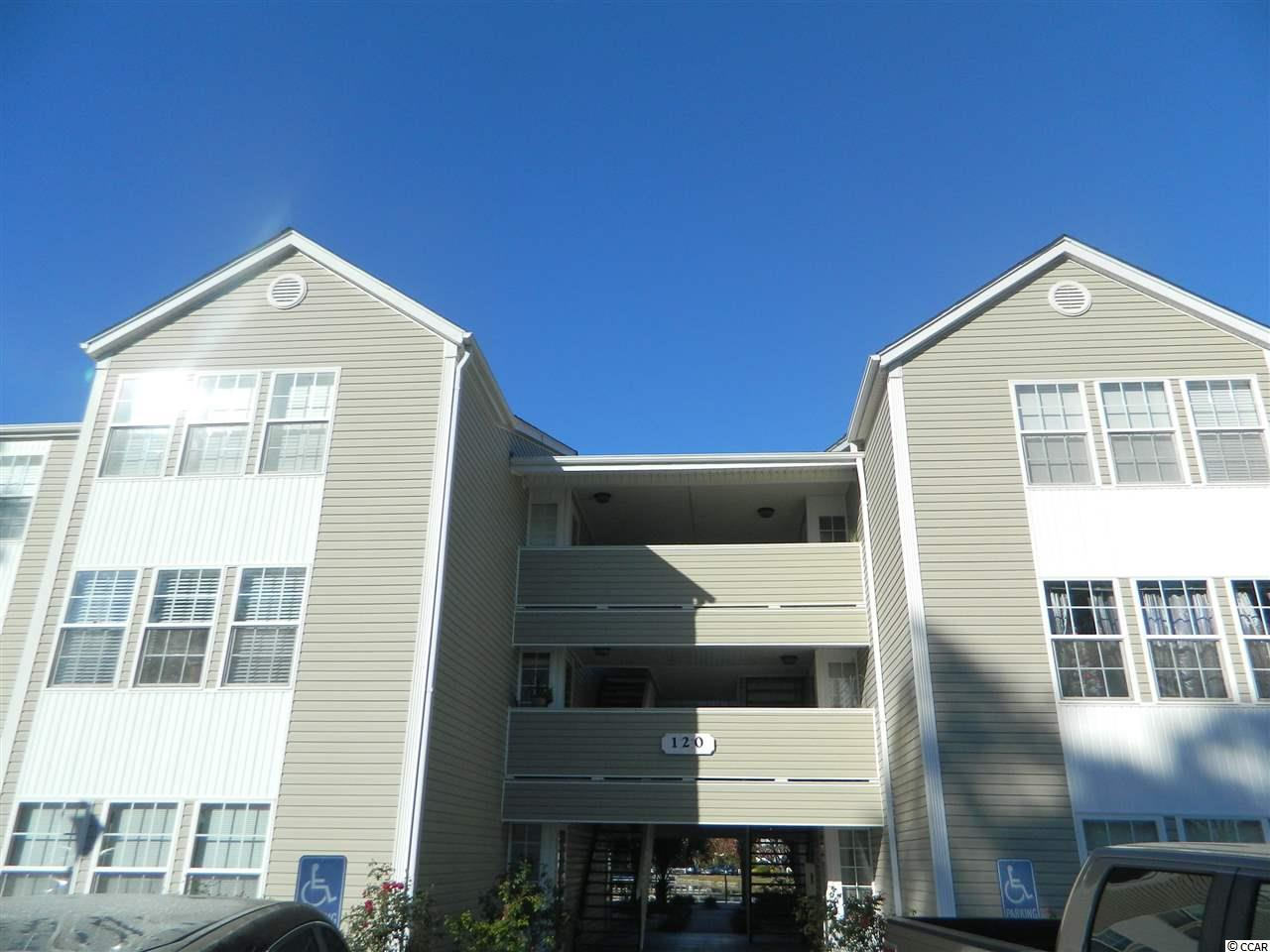 This lovely well maintained condo is ideal for an investment, secondary, or primary home. It has a direct pool view and sits off of a large lake with tons of beauty. The unit has lake views from all rooms including the Carolina room letting in an abundance of natural sunlight. Since this unit is on the 3rd floor you have vaulted ceilings giving it a spacious feel. It's a bike ride to the beach so make it your beach home today!
