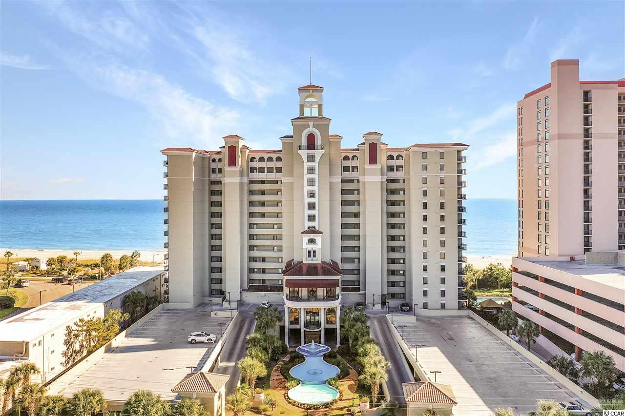 Absolutely spectacular ocean front 5 BD/4 BA. South Corner end unit in the Southwind. A quiet upscale resort along the golden mile in Myrtle Beach. Access to huge wrap-around balcony is provided through floor to ceiling glass sliders from the master bedroom & 2 locations in the expansive living room. Side balcony off largest bedroom also provides side ocean view & spectacular view of the southern coastline. Upgraded furniture and furnishings, granite counter tops, walk-in closets, tile flooring in bathrooms, dining room and living room. This resort boasts a large oceanfront outdoor pool, large indoor pool, lazy river and indoor/outdoor jacuzzi area, a workout area and owner storage room. Wonderful rental investment property, your permanent or second home on the Atlantic Ocean.