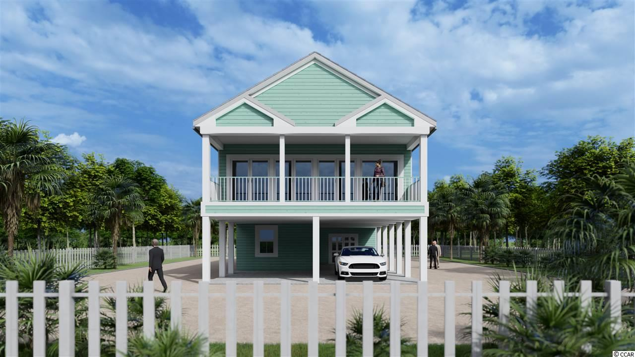 Make this huge Raised Beach home on an oversized lot in North Myrtle Beach your vacation get away. The concrete fiber board siding and thermal insulated windows and doors will make this a very low maintenance home to retire in. Make the best memories in your 4 bedroom 3 bath home, that will accommodate many friends and family get togethers. There is a 28 by 10 front deck equipped with a couple of ceiling fans to sit relax and enjoy the mild southern weather the majority of the year. Plenty of storage available for your beach equipment and toys. Under the house parking for boat or golf cart. Take a right turn out of your driveway and enjoy the beautiful view from Frink Park overlooking Hog Inlet (Cherry Grove Beach). This home is located within 5 minutes of restaurants, Golf courses, beach, boat and jet ski rentals, waterway, shopping and 10 minutes from new hospital, live entertainment, grocery stores and all North Myrtle Beach has to offer, Call today for your new home while still available! Square footage is approximate and not guaranteed. Buyers responsible for verification.