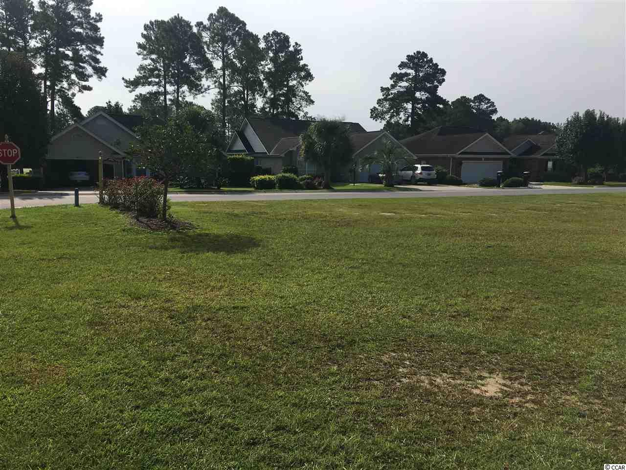 Oversized level corner lot in established golf community with low HOA fees! Golf, swim, and tennis available.  Very few lots left in River Hills and a great opportunity to build your dream home so close to Sunset Beach, NC and North Myrtle Beach both just minutes to the shores!