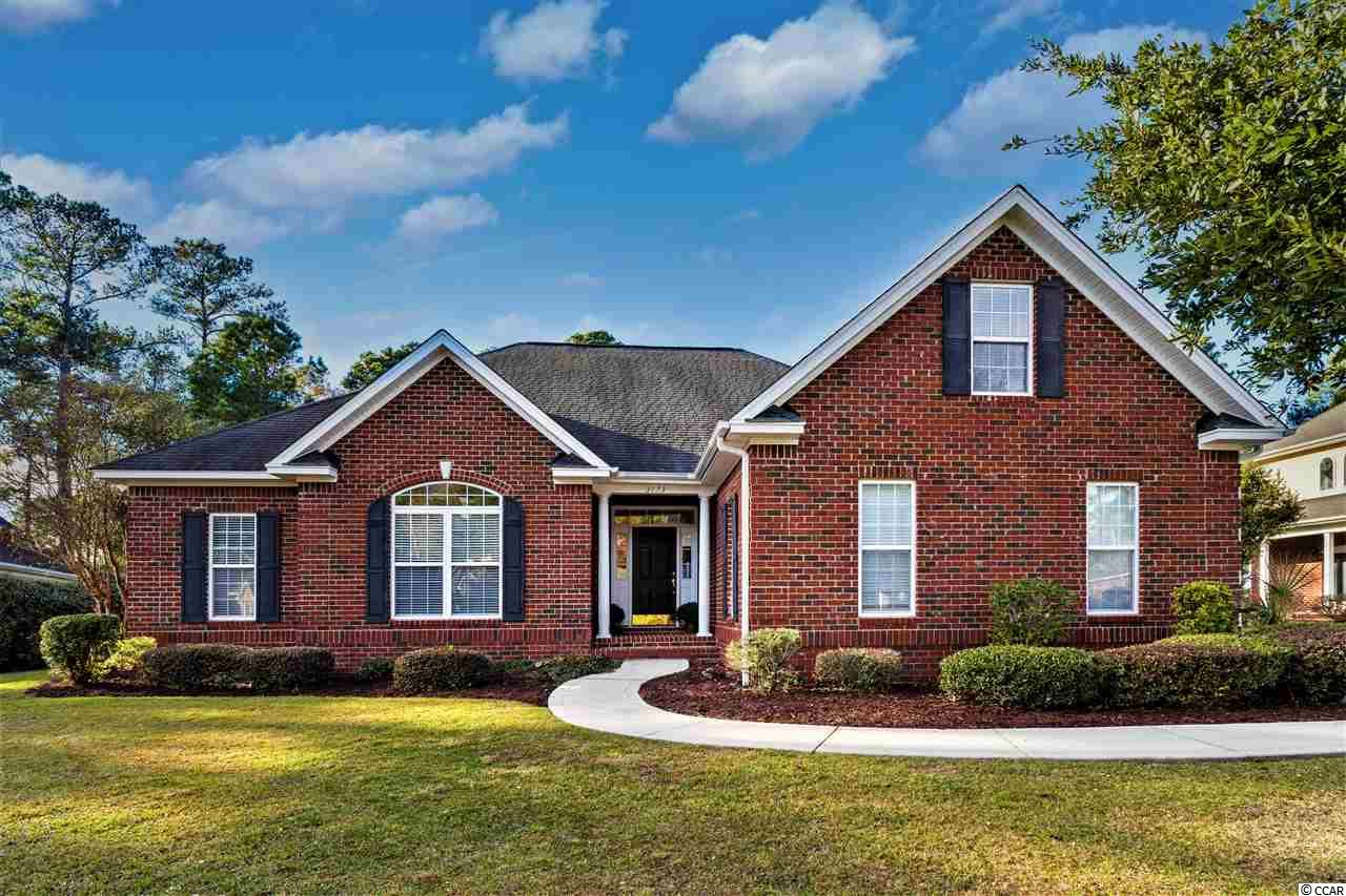 Little River... North Myrtle Beach Area... Located in Well Sought After River Hills Golf Community...  Spectacular Brick Home... Quality Custom Built 4 Bedroom 2.5 Bath Home Perfectly situated in River Hills with Views of Eagle Nest Golf Course... Enter this Magnificent Home into the Foyer Area Greeted with Flowing Tile and Hardwood Floors and into the Large Great Room with Soaring Cathedral Ceilings that joins the Kitchen and Dinning Areas... Fully Equipped Gourmet Kitchen Featuring Plenty of Solid Oak Stained Cabinets, Counter Space and Stainless Steel Appliances with Oversize Breakfast Bar Open to the Breakfast Nook and Sun Room Area... Bonus Room allows for a 4th Bedroom, Media/ Rec/ Office/ Exercise Room or Den...  Huge Master Suite with Trey Ceiling, Ceiling Fan and Private Sitting Area to Relax and let it go... Master Bath includes Jacuzzi Whirlpool Tub, Separate Glass Walk In Shower and Master Closet... Laundry and Work Room to keep all the Cleaning and Washing Chores out of the way...  Plantation Shutters, Atrium Windows, Trey Ceilings, Crown Molding, Recessed Lighting and Ceiling Fans throughout... Easy Access Attic Storage Area to handle all of Your Storage needs... During those Warm Carolina days Relax and Enjoy the Sunshine and Views on One of the 2 separate Back Patio Retreats Overlooking Eagles Nest Golf Coarse... Nicely Landscaped with Mature Trees, Grass and Shrubs... River Hills Golf Course, Club House, Pool and Tennis Court Social Membership Packages available...  This is Southern Charm Tranquil Living at its Finest with All You could ever Desire... Close to the Little River Water Front, Dinning, Shoppes, Entertainment, Sports Grills, Restaurants, Casinos, Shopping Centers, Malls, Outlets, Golf, Fishing, Intra Coastal Waterway (ICW), Marina's, and the Most Beautiful White Sandy Ocean Blue Water Beaches of the Grand Strand...  Your Time Has Come!