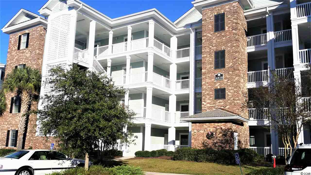 Well maintained Penthouse Condo - End Unit w/Elevator~3 Bd-2 Full Baths located @Myrtlewood's 36 Hole Golf Course on Intracoastal Waterway. Just 1 mile to ocean, minutes to shopping, amusements, restaurants, airport and medical centers.  Perfect Location ~ HEART of MB! Several Pools, grilling areas, walking/biking paths & Clubhouse for social activities. Fully furnished Golf Condo is move-in ready w/Crown Molding, Chair Rail, Vaulted Ceilings w/fans in all rooms. Mstr Suite w/King, WIC, Dual Vanity. Queen bds in 2nd & 3rd bdrms. 13x10' Balcony overlooks pond w/fountains. Owner lock-out + exterior storage closet. Short & Long Term rentals.Owners permitted pets. Maintenance Free! This is the BEST of the BEST - make it YOURS & Enjoy Life @ The Beach W/Golf Course Living in 2021 !