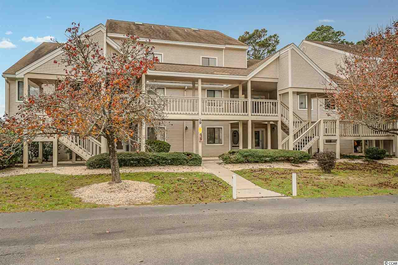 Welcome home to this 2 bed 2 bath condo in Bay Tree Golf Colony IX. Featuring an open concept living area that gets lots of natural light.  The kitchen has SS appliances and plenty of cabinet and counter space. The master bedroom offers a walk-in closet and a private full bath. The 2nd bedroom is a loft with its own bathroom.  Sit outside on your balcony and enjoy a relaxing evening with your favorite beverage.  Residents enjoy many great amenities including an indoor & outdoor pool, covered picnic area and community grilling area. This community is located in Little River just a short drive to the sandy beaches of North Myrtle Beach. Conveniently located to dining & entertainment, area attractions, shopping and so much more.  Hurry & schedule your showing!