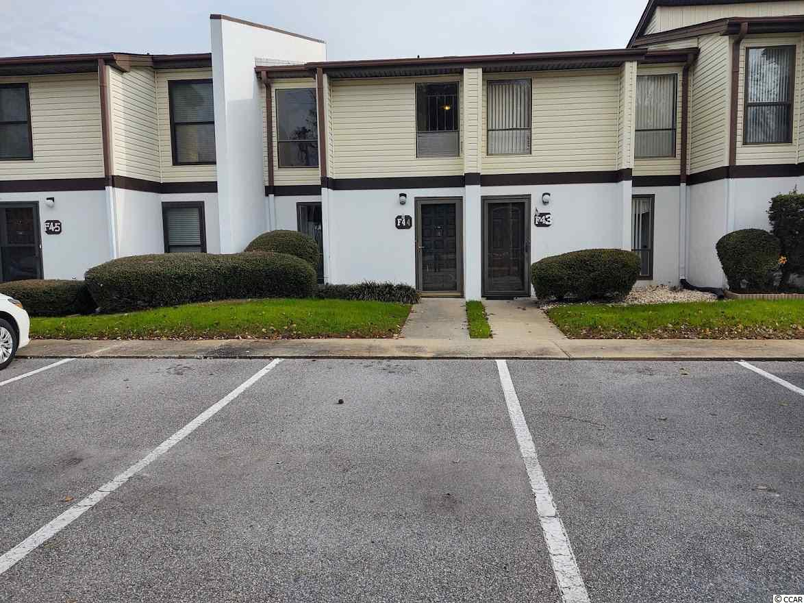 AMONG THE BEST LOCATIONS IN NORTH MYRTLE BEACH...schedule your showing immediately! Nice 2 Bedroom, 1.5 Bath Townhome close to everything the beach has to offer. Fresh paint throughout! Walk into the Foyer to the Dining area, step down into the nice sized Living area and sliders take you out to your private Patio/Courtyard. There is plenty of interior storage and an outside storage closet, next to the rear patio. Reasonable HOA payments too! This is a great community for a permanent residence, a second home for your beach getaway or as an investment. Begin 2021 in your new home!