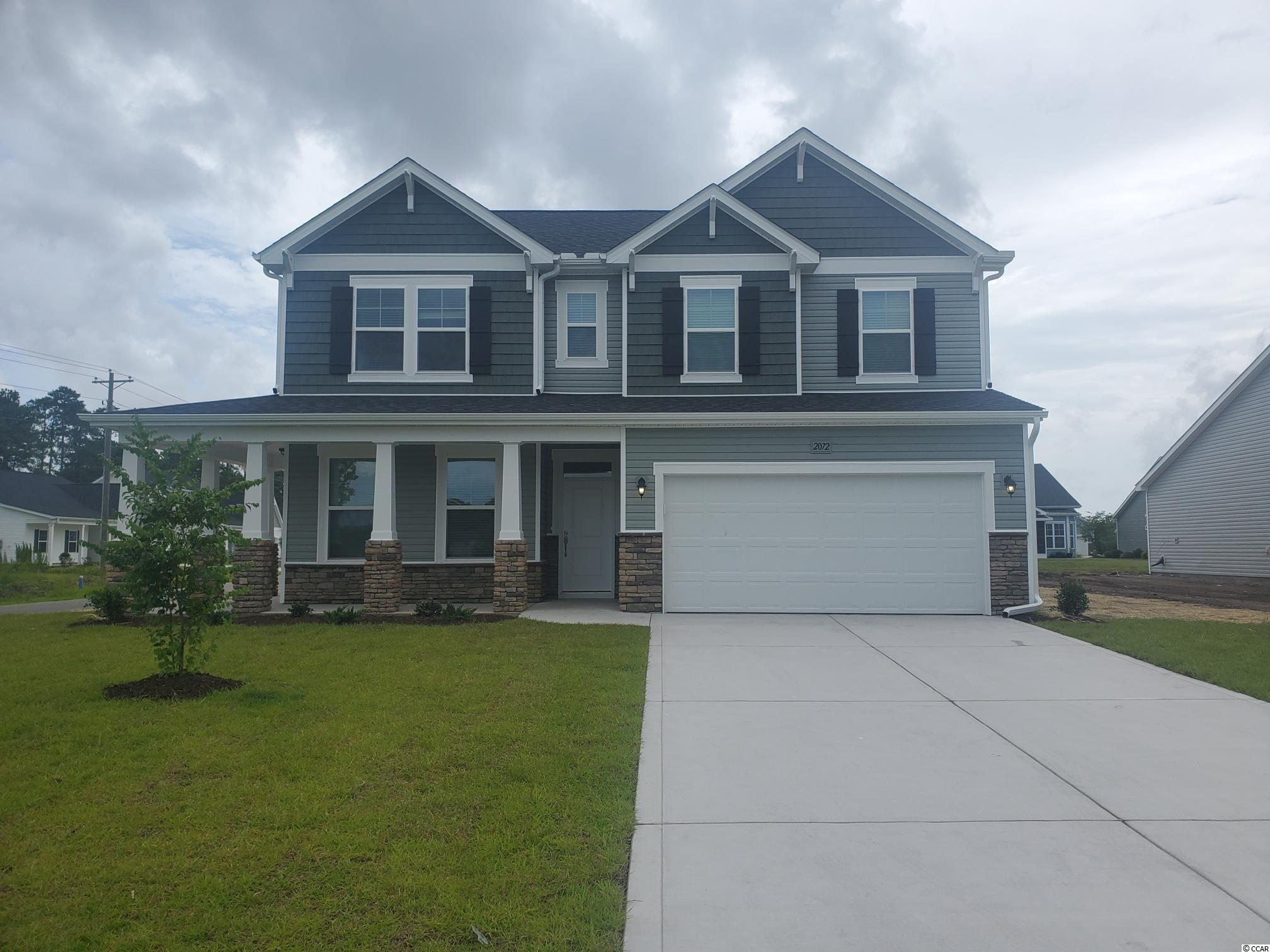 Beautiful Trillium floorplan with 4 bedrooms and 2 and one half baths