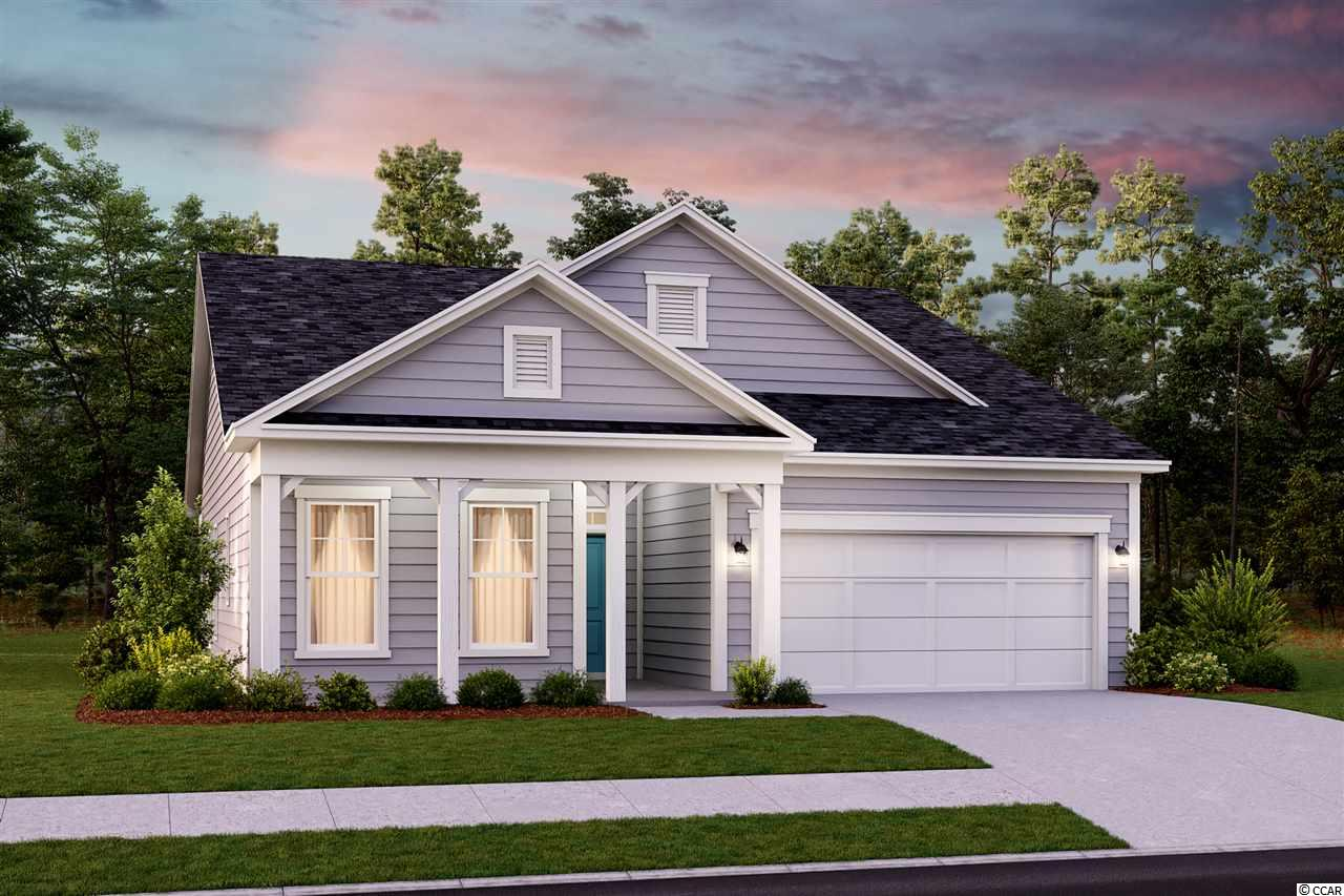 This home is a To Be Build Sunset Landing. This To be build home is the Dogwood floorplan featuring 1-story living with 2 bedrooms, with choice study OR choice 3rd bedroom, 2 bathrooms, a 2-car garage space, and a front and rear covered porch. Stainless gas range, dishwasher, microwave are all included with purchase. All homes in Sunset Landing are 100% Energy Star Certified, tested and rated by an independent 3rd party resulting in more comfort and lower cost of utility bills! Surrounded by a perimeter of wetland protected treeline, Sunset Landing is a natural gas community showcasing a brand new series of single family homes. A small, intimate neighborhood consisting of only 193 homes, residents will have access to an on-site clubhouse, pool, sidewalks, and weekly trash collection. Sunset Landing is located less than 1 mile to Highway 31, providing quick and convenient access to navigate the entire coastline. Located within the fishing and boating town of Little River, South Carolina, this area is outside of the hustle and bustle of Myrtle Beach! A laid back atmosphere with waterfront dining, boutique-style shopping, numerous marinas and championship golf courses are all within minutes from Sunset Landing! Come explore today!   All Pictures shown are from a Previous Inventory Home