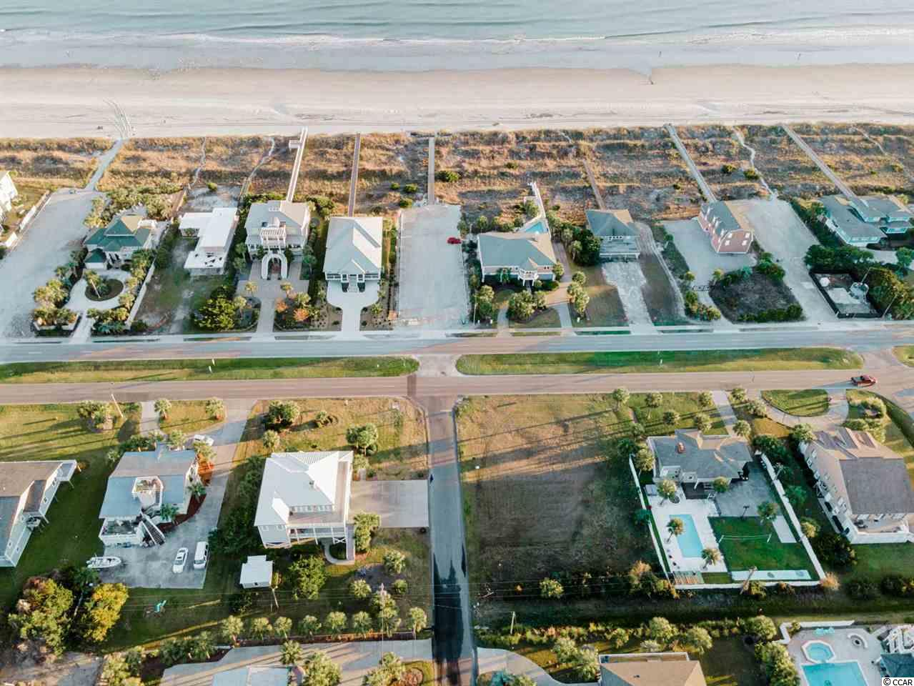 Come build your dream home just across the street from the ocean in North Myrtle Beach! This RARE .34 acre CORNER lot won't last long! Perfectly situated close to all of the area's dining, shopping, golf, and entertainment attractions, and just a few steps across the street to the beach. With NO HOA and NO timeframe to build. You won't want to miss this.