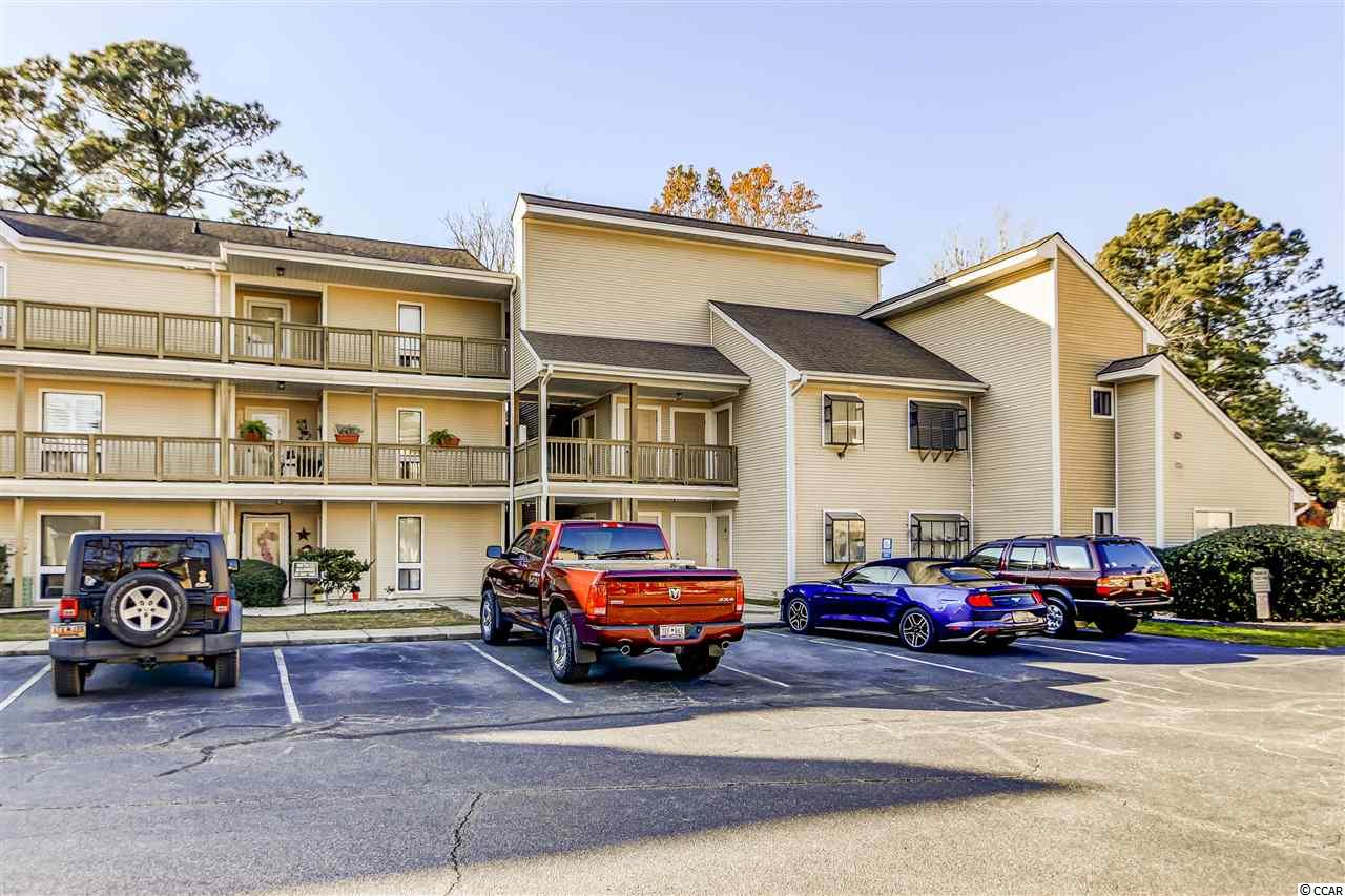 This well maintained fully furnished two bedroom two bathroom has only been used as a second home.  As you walk into the condo, you will find a split floor plan with cathedral ceilings and huge windows offering plenty of natural sun light.  The condo boast three balconies overlooking the secluded trees, perfect for your morning coffee.  New LVP flooring has been installed in the bedrooms and living area. The condo has also been completely repainted.  A new HVAC system was installed within the last couple of years.  The highly desirable Bay Tree Golf & Racquet community offers an indoor and outdoor pool, hot tub, grilling & picnic areas. Conveniently located close to a hospital, marinas, shopping and dining, and 10 minutes from the beautiful Cherry Grove Beach. Perfect for an investment, second home or primary home.