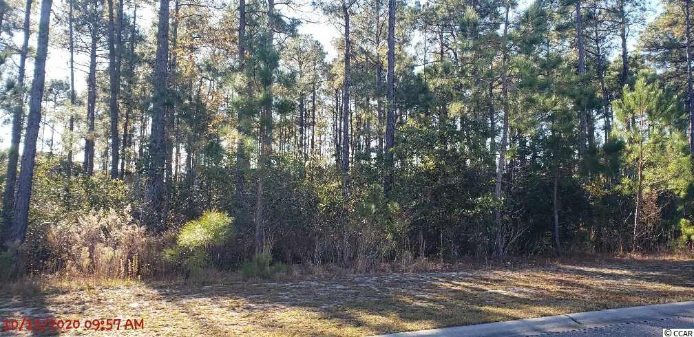 Great lot over 1/3 of an acre located in Gated Sago Plantation.  To the best of our knowledge, there is no time frame to build and you can choose your own builder.  Please check with the HOA for verification of any deed restrictions or ask your agent.