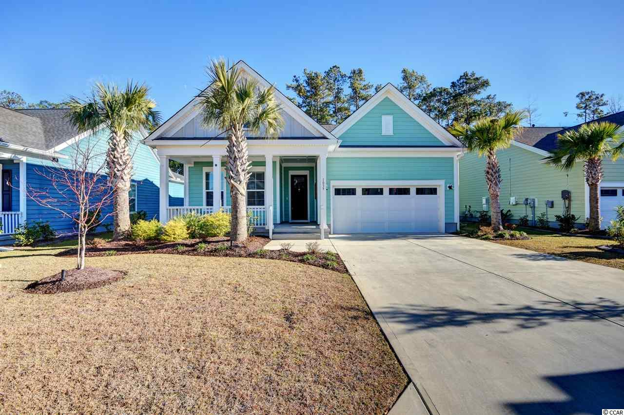 "Located within Prince Creek, Longwood Bluffs is a very desirable neighborhood that is offering a nice quiet setting but also in close proximity to all local area attractions. This particular home offers 4 bedrooms, 2 1/2 full baths, just over 2,200 heated square feet, over 2,600 total square feet, hardieplank siding, gutters, upgraded landscaping (Multiple palm trees and black mulch), a 13'5""x7'5"" front porch, and a large custom rear deck/porch that would be great for relaxation or entertaining guests! Except the tile flooring in the bathrooms, an upgraded Vinyl Plank has been laid throughout the house, along with crown/base molding. The family room offers high ceilings, 6 canned lights, and trey ceilings. Considered an ""Open Floorplan,"" this house makes it very convenient to communicate with one another from any of the common rooms  (Family Room, Kitchen, Carolina Room/Sunroom, or Breakfast Nook).  As one of the more impressive kitchens, this fully upgraded room sits right off the family room and offers plenty of upgrades: 12 Canned Lights, ALL Stainless Steel Appliances: Kenmore Elite Refrigerator, Convectional Microwave, Oven, a Gas Stove, 42"" White Cabinets with crown molding on both the top and bottom of the cabinets, a portion has glass facing, and all new hardware/handles on all the cabinets and drawers. The Kitchen also offers a tile backsplash, upgraded white granite countertops, a large porcelain ""farmer"" sink with a garbage disposal, and a large pantry. On the opposite side of the kitchen you will come across the ""Breakfast Nook,"" which the owners have configured to a sitting area that offers a ceiling fan and 4 large windows. The Carolina Room (Sunroom) sits right off the family room and is currently being used as the formal dining room. The combination of five large windows, an all glass door, and a transom window, this room is always filled with natural light. Located towards the back of the house is the Master Bedroom, which offers a ceiling fan, top and bottom crown molding, vinyl plank flooring, and 3 large windows. The Master Bath consists of a Raised Vanity with White Granite Countertops, Two Sinks, Upgraded faucets, New Mirrors, New Light Fixtures, added Hardware (handles/knobs) on all the cabinets/drawers, Tile flooring, a Tiled Shower with a Glass Door, and a transom window for additional natural light. The Master Bath also offers a toilet closet, and a large Walk-In Master Closet that offers custom Shelving with upgraded hardware and plenty of storage. The 2nd and 3rd Bedrooms offer ceiling fans, vinyl plank flooring, 4 canned lights in each room, and although only the 2nd bedroom offers a walk-in closet, both closets are spacious and have custom shelving. These 2 bedrooms share a ""Jack and Jill"" bathroom that has tile flooring, a raised vanity with two sinks, upgraded light fixtures, a Tiled Shower with an all glass door, and transom window above. The 4th bedroom is located on the opposite side of the house but offers all the same upgrades as the other two. Not only does this house offer upgrades both inside and out, but its conveniently located within a few miles of all the local area attractions, such as the Beach, the Marsh Walk, Brookgreen Gardens, plenty of convenient stores, grocery stores, and golf courses, including Prince Creek's home course, TPC Golf Course. Homeowners also have access to Prince Creek West Amenity Center (The Park), which offers a nature trail, tennis courts, playground and kiddie pool, outdoor covered pavilion, a fireplace, and a grilling area. All Measurements are estimates and not guaranteed. It's the responsibility of the buyer to verify."