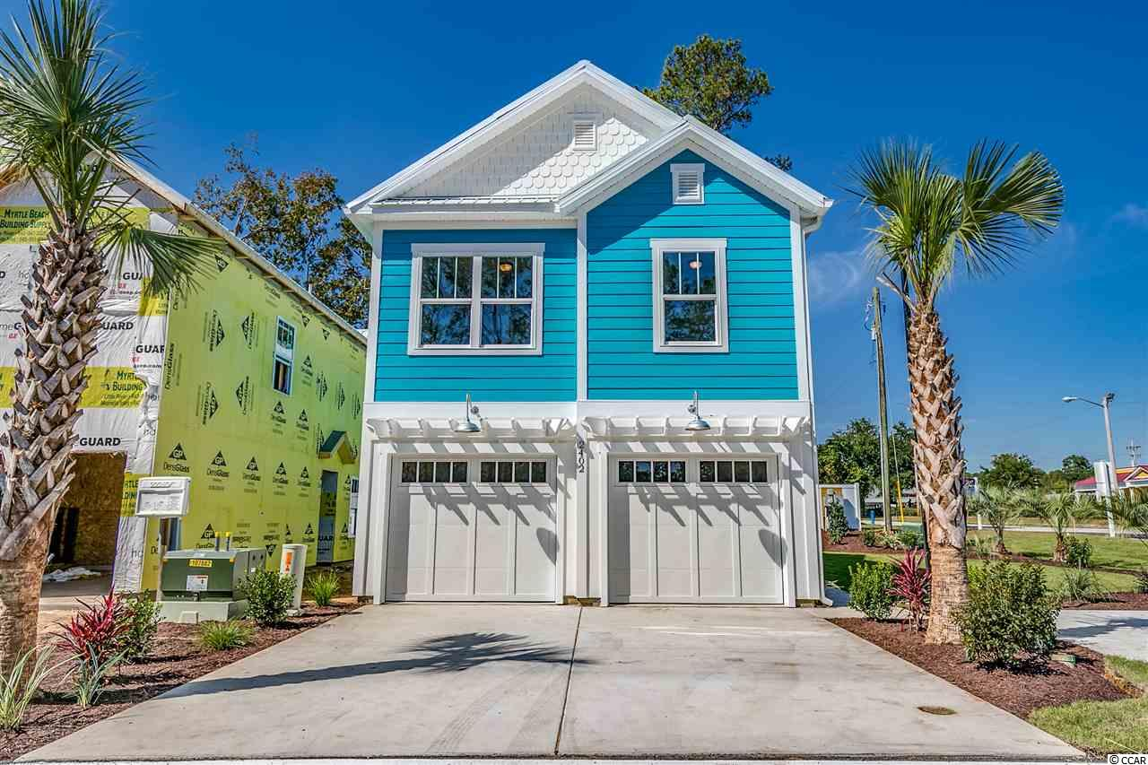 Floor plan is available as Pelican Shore. The master bedroom on the first level. Please note pictures are similar from model and floor plans can be sent per your request. Brand New Rare opportunity to own 3 bedroom homes available just steps from the ocean. This brand new community known as Seabreeze will consist of just 10 cottage style beach homes. These home's will come standard equipped with LVT throughout the entire home as well as granite and stainless steal appliances. These homes also have upgraded features such as metal roofing, hardee board siding, and even an outdoor shower for after a long day at the beach. Homes are located in short term rental district where you can rent out week to week for investment purposes or just make enough to have the ability to vacation to Myrtle Beach when the weeks you don't have it rented out! This ocean view neighborhood is located on the East side of HWY 17 that only a 5 minute walk to the beach! Not to mention multiple restaurants and entertainment located located very close such as Market Commons, grandstrand mall and the ocean boulevard. At this price, this close to the ocean, and this opportunity we expect to sell out quick so schedule your showing today!