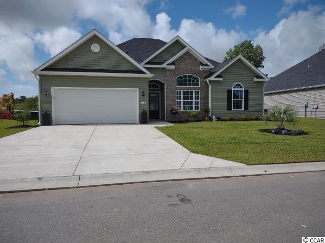 New 4 bedroom, 2 bath home in the Tomahawk Estates subdivision in the Arrowhead Golf Course Community.  Home comes with stainless steel appliances, LVP thur-out, granite counter tops in the kitchen, one panel of brick and a fully sodded yard.