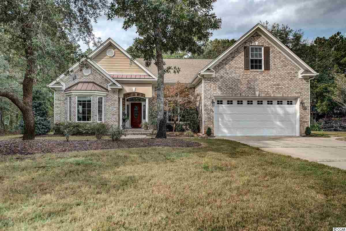 It may feel like you are never going to find a home that has everything on your wish list.  Here it is! 322 Linden Circle in Litchfield Country Club is located on a large, private lot with 3 Bedrooms, 2 1/2 Baths, an ample home office and a flexible bonus room. The welcoming and open floorplan features an  updated kitchen with gas stove and double ovens opens to the impressive dining room and family room with gas fireplace and high ceilings.  All of this with the features that you had on your wish list: hardwood floors, handsome moldings and finishes and a quick-return gas hot water heater.  The owners' suite has the feel of a spa-like getaway with a two-step tray ceiling and a luxurious with a large tiled shower, 2 sinks, 2 closets and a water closet. The guest bedrooms share a well-appointed bath with double sinks.  The laundry room is smartly situated just off the garage.  So, the inside of the home is pretty perfect wouldn't you say?  Now ... head outside!  The substantial covered porch is just off the family room and offers a built-in party center, gas line for your grill, tiled floor and and overlooks the in-ground saltwater pool and golf course beyond ... the backyard your family has always dreamed of!  A home with all of the bells and whistles, in perfect condition and market-priced .... better hurry!