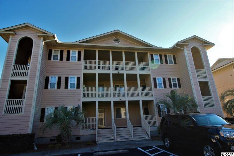 Wow what a treat!  A one bedroom first floor condo just  few blocks to the beach!  And the neighborhood has a pool, pond and grilling area.  Check out the condo with full kitchen, nice sized living, and a screened porch.  And outside in hall is a storage closet.  What more could you ask for at this price!