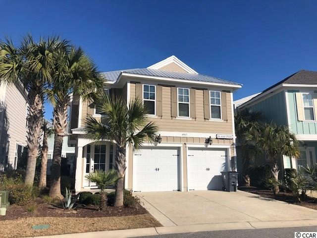Furnished 4 BR / 3.5 BA home in Whitepoint with 2-car garage, partially covered heated pool with pool deck (pool resurfaced with GEM Finish w/5-10 yr. warranty from Florida Stucco Corp), granite countertops & SS appliances in Kitchen, Master Suite with vaulted ceiling and luxury Master Bath.  Stand/table in Master BR & 2 storage containers in garage do not convey.  North Beach Plantation is a 60-acre oceanfront destination with 2.5-acre pool area with a swim-up bar rated #1 in the US by TripAdvisor, 8 pools, 5 hot tubs, lazy river, world-class spa, Beach Fit fitness center, shuttle, security and 3 on-site restaurants located across from Barefoot Landing.