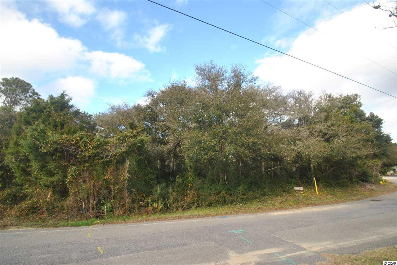 Fabulous homesite in the heart of North Myrtle Beach. This property backs up to a 7+ acre conservation area...a maritime forest right in your back yard! just 3 blocks from the beach this homesite will some limited ocean views, and is NOT in a designated flood zone. Buy now, build later.