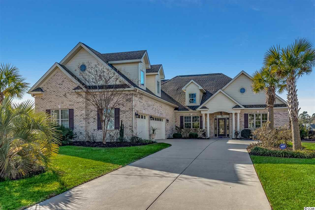 Amazing custom built home in prestigious Wild Wing Plantation is absolutely perfect for a large executive family.  With over 4,500 heated square feet, home features 5 bedrooms and 4 and 1/2 bath.   Additional features include: (2) downstairs master bedrooms both with custom tile showers, open Floor-plan with eat-in kitchen, office, formal dinning room, sun room, and media room upstairs.   Beautiful hardwood and tile flooring throughout, gourmet kitchen featuring double ovens and gas cooktop, granite countertops, Custom landscaping, 3 car garage, and large outdoor porch complete this masterpiece.  Wild Wing Plantation has over 180 acres of lakes for you to explore and enjoy. You can even have your own private boat dock, use your boat to explore the lakes, fish and even take your boat to the clubhouse to also enjoy the many amenities there. The community features custom built brick and stucco style luxury homes. Association amenities included large clubhouse, multiple outdoor pools, hot tub, 80' waterslide, tennis/pickle ball courts, basketball court, playground area, huge day dock, private boat ramp and owners private boat storage.