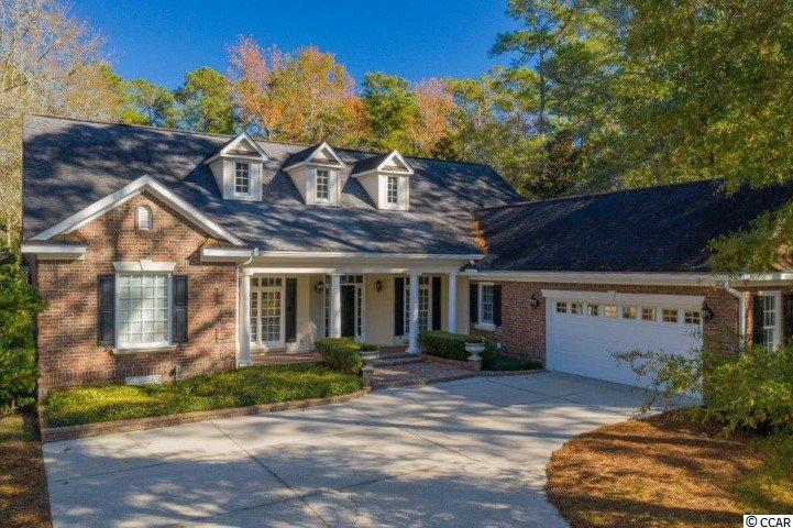 "Welcome to 2004 Turnberry Lane – a stunning all brick custom-built single story low country home with an inviting southern style front porch. Located on a beautiful corner lot in the highly desirable and private Wachesaw Plantation. Once you step inside this beautifully decorated and spacious open floor plan you will see the attention to detail throughout this exceptional property making it truly unique. The kitchen has a large island for those that love to cook. Stainless steel appliances include a self-cleaning double wall oven, microwave, dishwasher, side-by-side refrigerator, a glass cooktop & a pantry for extra storage. There is a large laundry room with a utility sink, washer & dryer, and plenty of room for laundry baskets. The split plan bedrooms offer privacy for everyone. The oversized master suite with coffered ceilings includes a sitting area, a large walk-in closet, a linen closet, and a toiletries closet. The spacious master bath has double sinks, a spa-like bath, and a walk-in shower. One of the three guest bedrooms has its own private bathroom while the other two share a Hollywood style bathroom. If you want to work from home there is a designated office off of the main foyer with glass double doors. There is a formal living room & dining room awaiting you for the holidays. The new homeowner will enjoy entertaining in the large Carolina room with stack back sliding glass doors to an adjacent outdoor patio with a pergola, fireplace, and two built-in grills. To add to the ambiance there are three fountains, a brick fire pit, and a Charleston-style garden for seasonal flowers. This area was custom designed by A&E Kitchens & Waccamaw Landscaping and was featured in the Sun-News outdoor living section. This home has everything you could possibly need and more. The pride of ownership is displayed in every detail from the exterior to the interior of this home. Wachesaw Plantation is a gated community, with 24/7 security guards at the entrance. Some key amenities include a TomFazio designed private golf course and tennis club, private pool, and private dining @ ""Kimbels"" overlooking the Waccamaw River/Intracoastal Waterway. Contact the Wachesaw Plantation Club to inquire about Membership. The community's location offers close proximity to Waccamaw/Tidelands Hospital, the Murrells Inlet Marshwalk, Wacca Wache Marina & Public Boat Landing, restaurants, the beach, Huntington State Park, and Brookgreen Gardens."