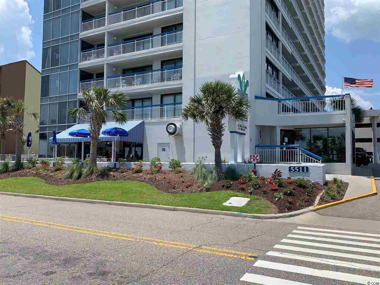 Great opportunity to own a large 1 bedroom 1.5 bathroom condo in the popular Forest Dunes Resort located on the famous Golden Mile of Myrtle Beach with many upgrades and onsite rental options. This unit is completely furnished and  features upgraded flat screen TV's, granite countertops, tile backsplash and a new sleeper sofa. Enjoy the large full size kitchen that  offers plenty of cabinets, counter space, breakfast bar and a smooth top range. Enjoy the spacious living/dining room area with sliding glass doors that open to your private balcony. The full bath has a vanity and tub/shower combination. There is plenty of sleeping space in this one bedroom condo with two double beds and a sleeper sofa. There is an owner's closet for private storage. Enjoy awesome ocean views from your balcony, living room and bedroom. . Forest Dunes offers you and your guest great amenities such as an indoor/ outdoor pools, lazy river ride, hot tub, exercise room and on-site washers and dryers.  Come and relax in the on site in door/ out door restaurant and sports bar. Location close to shopping, golf , dining, entertainment and everything the Grand Strand has to offer. If you are looking  a vacation getaway or investment property this is a must see!