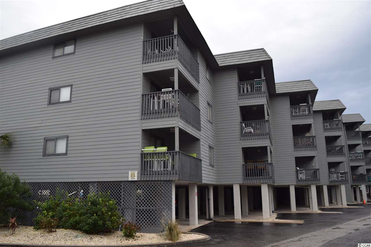 Beautiful, fully furnished, ocean front condo at Sea Cabin! Located on the north end of Cherry Grove, this unit was fully upgraded in late 2019 and is ready for you. Just step out on the balcony to smell the salt air and experience the beauty of the Atlantic Ocean right in front of you! All new in late 2019:  paint, luxury vinyl flooring, stainless steel appliances, granite countertops in bath and kitchen, storm sliding door, ceiling fans, HVAC, water heater, walk in shower, and more. Private pool and pier for owners and their guests only. This unit has not been on rental program. This condo has it all, and a gorgeous ocean front location. Call today to see for yourself!