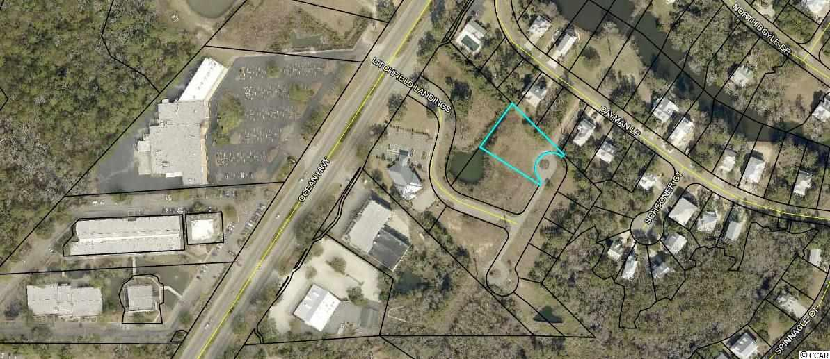 Zoned Commercial. To be Rezoned to Residential by Seller.  One Acre Lot in Litchfield Landing. Near Winyah Surgical and Applewood Restaurant. Near Bike Path and Retreat Park.