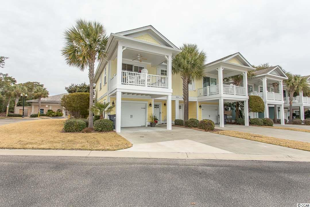 Beautifully furnished 2 BR / 2 BA townhome with 1-car garage in Appleton.   This end unit has plenty privacy and has been meticulously maintained.   Main living area is on 2nd level with balcony.  Recently painted; new gutters.   Personal items and items all items in garage do not convey.  North Beach Plantation is a 60-acre oceanfront destination with a 2.5-acre pool area with a swim-up bar rated #1 in the US by TripAdvisor, 8pools, 5 hot tubs, lazy river, world-class spa, Beach Fit fitness center, shuttle, security and 3 on-site restaurants located across from Barefoot Landing.