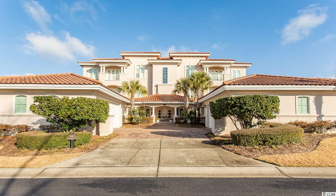 Don't miss your opportunity to own this stunning 4BR/3BA second floor end unit with amazing golf course view in Villa Firenze of Grande Dunes. Stepping into the foyer of your unit directly from the private elevator, you are met by an open floor plan that renders the perfect environment for entertaining. Tile flows seamlessly throughout the combined living spaces while carpet lays soft underfoot in all of the bedrooms. The gourmet kitchen offers multiple gathering spaces including a built-in breakfast bar and breakfast nook. Adorned with custom maple cabinets finished with a warm glazed, several of them are glass fronted which allows display of your decorative items. The large center island serves as both a prep space and buffet for charcuterie boards while entertaining. Granite counters and high-end stainless-steel appliances finish the space. The central living space boasts many features that add a touch of elegance that elevates relaxing at home to the next level! Retreat to your master suite and enjoy stunning views from the balcony overlooking the golf course. Whether you enjoy taking long showers or soaking in a hot tub this master bath has everything you need to relax. Dual sinks and a vanity area are built-in. Other features include a 600 sq ft wrap around balcony that flows into a large lanai accessible from the master suite, great room and dining room. Additional upgrades include: 2 Lennox HVAC systems with Honeywell controls, 50 gallon hot water heater with tank booster, LLumar window tinting on all southern exposure windows and doors, Whirlpool Cabrio washer and dryer, Fireplace tile with built-in cabinetry, Closet workstation, Chandelier, foyer light fixtures, Ceiling fan upgrades, Bathroom Sinks, faucets and lighting, Samsung microwave, Carpeting in master bedroom and Den and several window and window screen installations. This property is located in South Carolina's premier coastal community in Myrtle Beach; Grande Dunes. Stretching from the Ocean to t