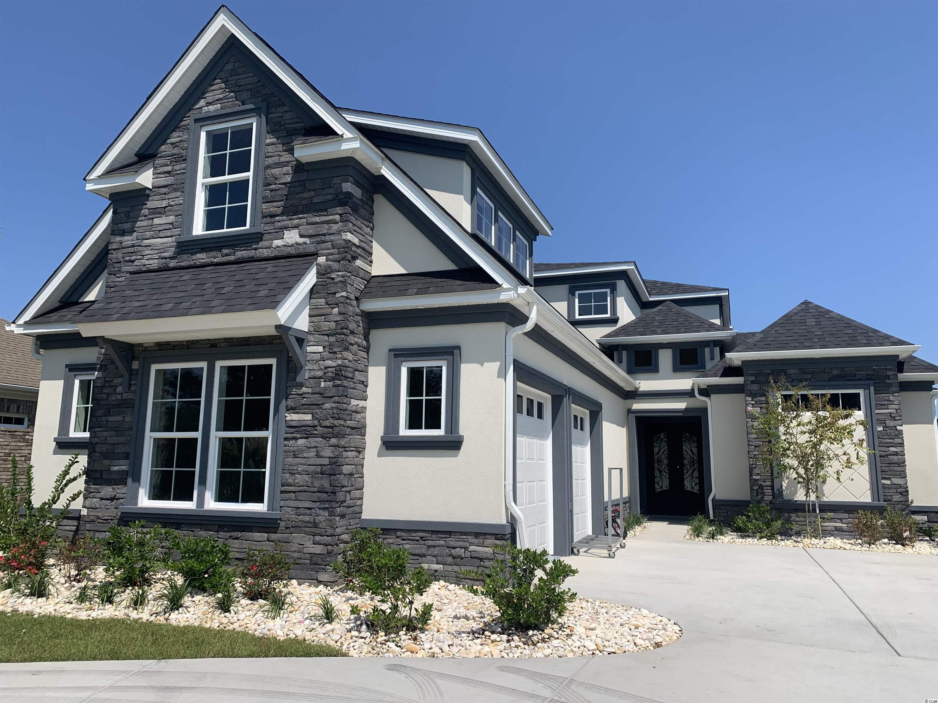 This beautiful new construction home is under construction and will be ready for a lucky buyer in July 2021! Located in the highly sought after Carolina Waterway Plantation that is a gated intra coastal waterway community with private boat storage and boat launch access. If you are looking for a 100% custom home with quality upgrades and finishes this is it. This home will be loaded with all of the upgrades would expect in this price range including  LVP flooring throughout upgraded countertops, soft close all wood cabinets, all showers are tile including a large shower and tub in the master bathroom, custom wood shelving in your oversized master walk in closet, large tray ceilings, appliances credit will be given, crown molding and upgraded lighting package. Carolina Waterway is located conveniently near Hwy 501 and Hwy 31 for quick easy access to all of Myrtle Beach and surrounding areas have to offer. Buyers if purchase in time will be given choices for certain finishes. Book your showing today as you will not be disappointed!