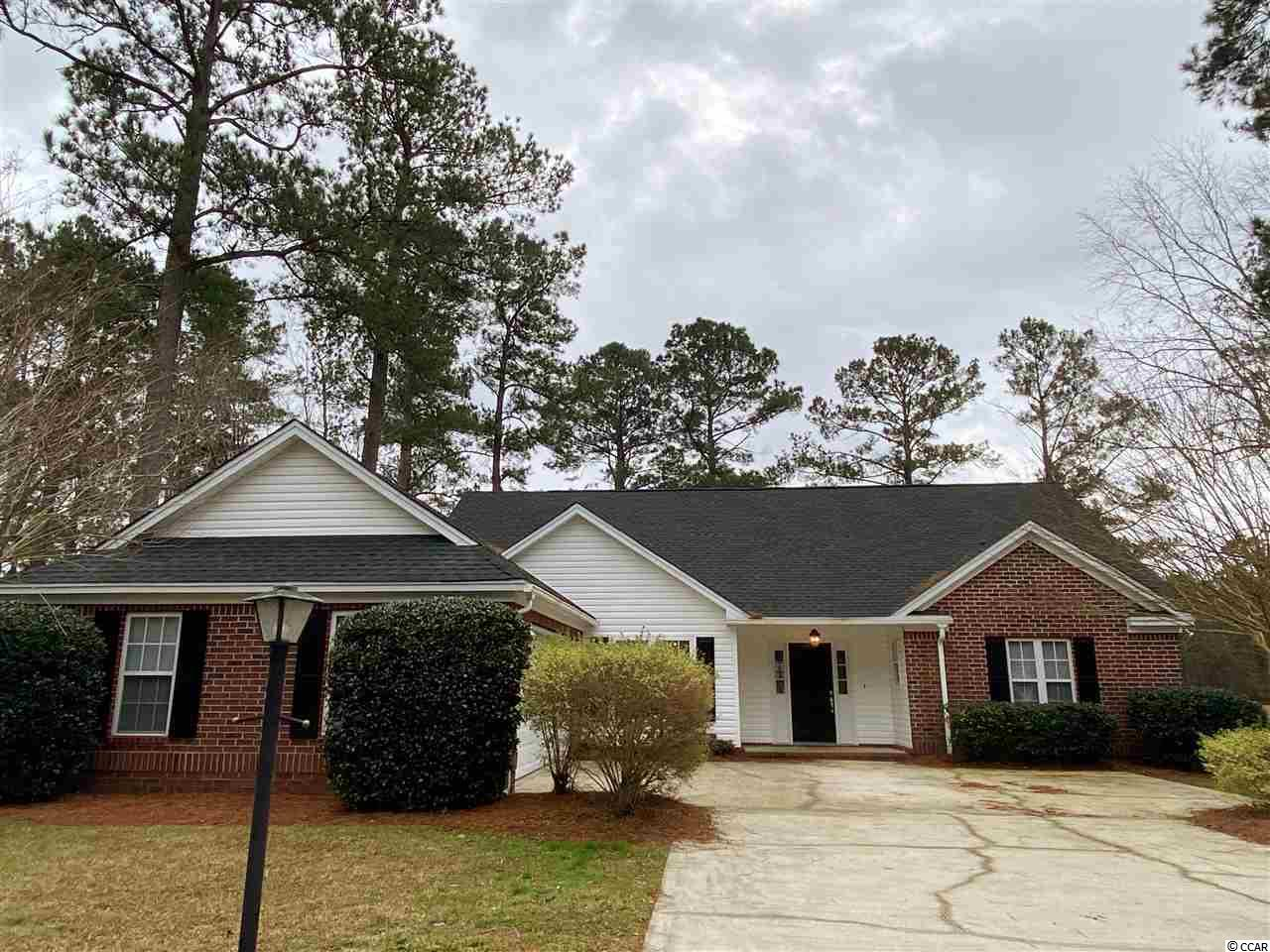 Seller says SELL this 3 BR, 2 Bath home in Wedgefield, and has priced it accordingly! It offers a split floorplan, all on one level, with vaulted ceilings, formal dining room, breakfast nook, breakfast bar, Carolina room, laundry room, pre-engineered wood and tile floors....no carpet. The spacious master suite features a big garden tub, separate shower, double sink vanity, private water closet, walk-in closet, and linen closet. It has a NEW ROOF  (April 2020) and the HVAC is only 4 years old! Lush, mature landscaping surrounds 159 King George: magnolias, azaleas, camellias, and crepe myrtles.  We can't wait to see it in the Spring! Other features include: 2 car garage, tile kitchen counters, kitchen pantry, attic space, patio and a gorgeous view of the golf course. Historic Wedgefield Plantation is located on the site of a former rice plantation.  In addition to a recently renovated, gorgeous golf course, there is a community boat landing and day dock on the Black River, swimming pool, tennis courts, and the on-site Manor House Restaurant.  Downtown Georgetown is less than 10 minutes away, where you'll enjoy fine dining, boutique shopping, museums, art galleries and excellent health care facilities. The beautiful beaches of Pawleys Island are just a 20 minute ride north.  This house on the quiet cul-de-sac of King George Rd. in Wedgefield Plantation, is the perfect place to call home!