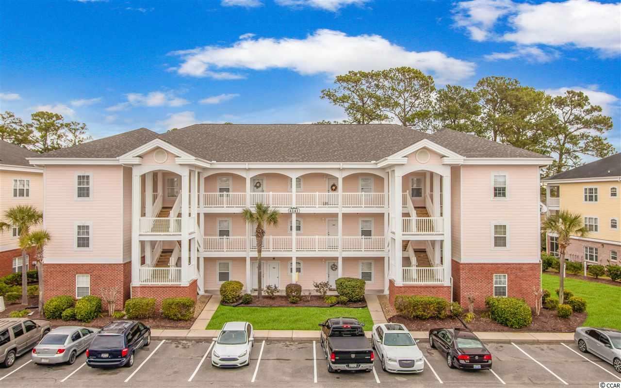 Beautifully remodeled 3 bedroom/2 bath, top floor end unit condo in Little River.  The Gardens at Cypress Bay is the ideal location to everything that beach living has to offer; only 5 1/2 miles to the beautiful beach in Cherry Grove and 1 1/2 miles to the Little River Waterfront.  There is a community pool for non beach days to soak up the sun. You will feel the love that went into this condo upon entering through the new storm door. It offers vinyl plank flooring throughout, cathedral ceilings, stainless steel appliances, a lovely rear balcony, and lots of natural light.  There is no elevator, but the stairs will keep you in shape!