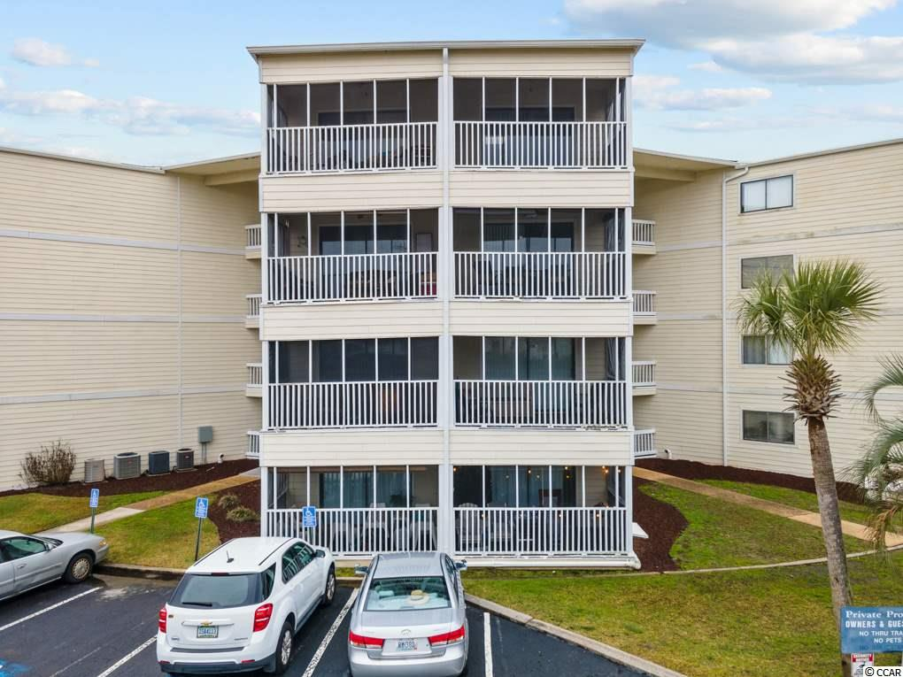 Move-in ready second floor, one bedroom, 1.5 bath condo with screened porch is located steps away from Cricket Cove Marina on the intercoastal waterway in Little River. This gently used condo includes LVT flooring throughout, crown molding and 6 panel doors with brushed nickel hardware. The focal point is the kitchen island with acrylic glazed bar style top to maximize kitchen space. Intercoastal Village Community amenities include an elevator in the building, security cameras in the common areas, outdoor swimming pool, tennis courts, and a courtyard. Only minutes from marinas, boat landings, the Intracoastal Waterway, and just a short drive to the beach & Barefoot Landing! This would make an excellent investment property, second home, or primary residence. Call today for a showing.