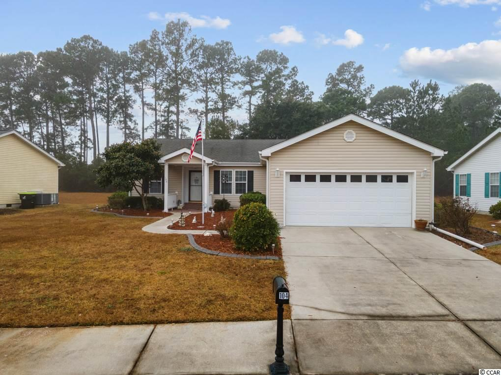 BEAUTIFUL Glen Eagle home with 3 Bedrooms, 2 bath, Carolina Room (12 x 20)with heat/air. Outside patio and pergola. Most shaded lot in Lakeside Crossing. Breakfast bar. 2-car garage is over-sized 27x20 fits 2 cars and still has space for a workshop. Sump pump under home. Spare bedroom has a beautiful upgraded safe step walk-in tub. Washer/dryer convey. Lakeside Crossing is a premier retirement community with awesome amenities from; paddle boats, tennis, pickle ball, billiards, Olympic-sized indoor pool, outdoor pool, BYOB bar, library, etc. Full time Activities Director ensures there are lots of scheduled activities in the ballroom such as shows, community breakfast, Thanksgiving meals, cards, etc. Lakeside Crossing has it all. Come down and enjoy your retirement. All measurements are approximate. Buyer responsible for verification of all measurements and details.