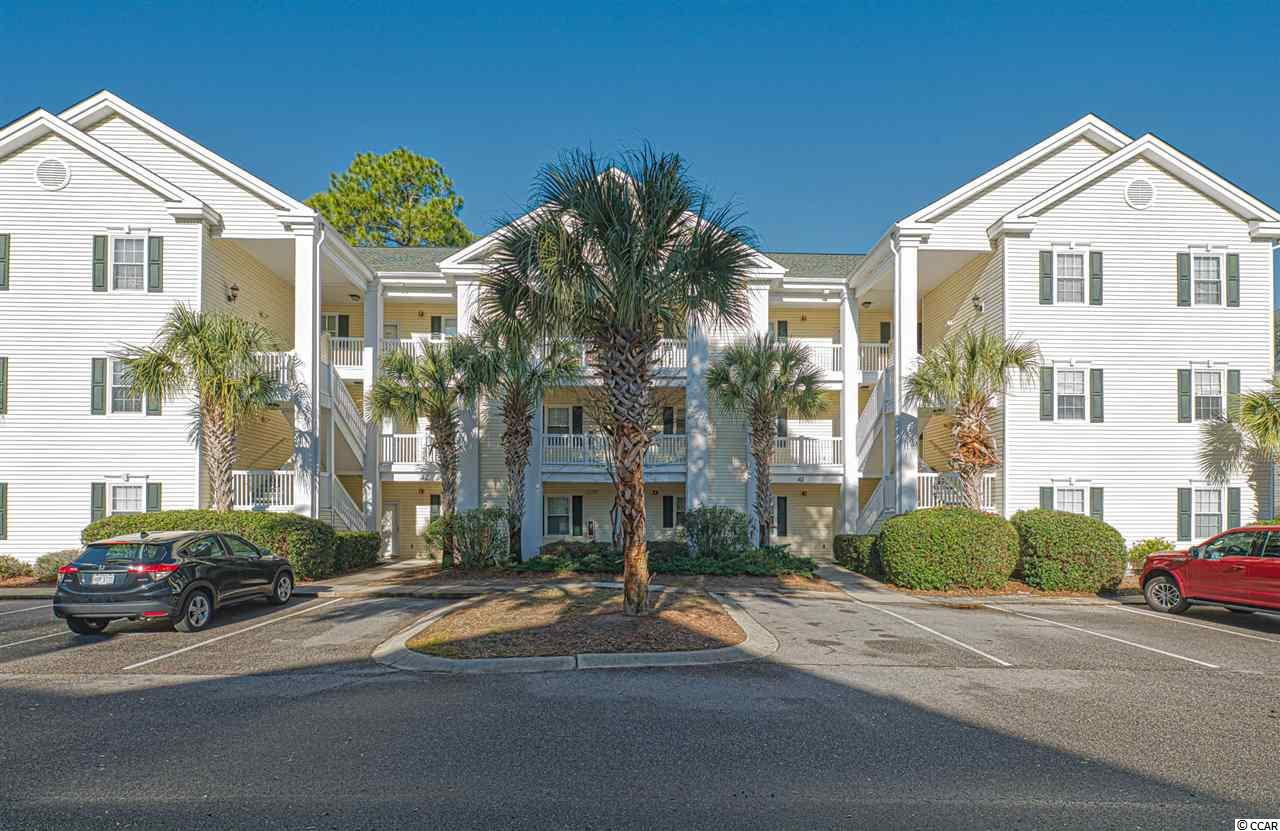 Beautiful 2nd Floor, Fully Furnished, 2 bedroom 2 bath condo in the heart of North Myrtle Beach, just a short golf cart ride or walk to the beach, Main Street (With the Shagging Events, Restaurants, Bars, Ice Cream Shoppes, Arcades and Beach Parking), easy access to Robert Edge Parkway and Highway 31, Golfing, Shopping, and more. This particular condo has a screened in porch that over looks trees and privacy & also has a detached storage closet. This Gated Community features multiple pools, hot tub, grilling areas, a Full size Gym, beautiful landscaping, Sidewalks and ponds. The Highly Desired Community of Ocean Keyes allows short term and long term rentals, or can be used as a primary or second vacation home. Come enjoy the beautiful beach!