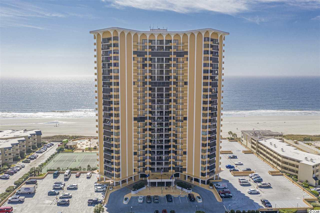 You will want to live here! From the moment you walk into the lobby of this prominent oceanfront building in Myrtle Beach you will be impressed. The feeling of home continues as you enter the spacious foyer. There are gorgeous, north views of the ocean from the living area. These views are also seen from the kitchen and bedrooms. Two balconies not only share those spectacular views but also give you outdoor living space. Besides the foyer and living room, you will also take note of the two master bedrooms with their own ensuites and walk in closets. Besides plenty of storage, there is also a formal dining room, kitchen with eating area and a designated laundry room. The resort has great amenities some of which include outdoor pool, private beach access, designated parking, private lounge and restaurant, fitness room, game room, tennis courts, and even a movie theater! Fabulous location close to shopping, fine dining, and everything the Grand Strand has to offer. Join the other owners here at the Maisons Sur-Mer who call this home on a full time basis or make it your second home at the beach. Square footage is approximate and not guaranteed. Buyers responsible for verification.