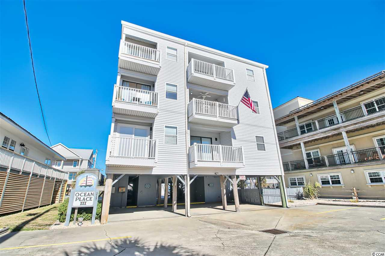 Second row 1 bedroom/1 bath furnished condo with phenomenal view of the Blue Atlantic Ocean! Turn-key unit located in the heart of Cherry Grove, just steps to the ocean, and close to the Cherry Grove Fishing Pier.