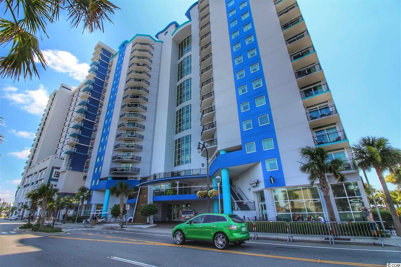 You are going to love this property. It's a money maker. This beautiful ocean front condo is in the heart of Myrtle Beach. Enjoy the amazing views from your 2 private balconies in the popular Bayview Resort. Walking distance to restaurants, shopping, Sky wheel and other area attractions. This 2 bedroom 2 bathroom unit offers a lockout option. Rent one side and use the other or enjoy the entire condo for yourself . One side has a separate living room, kitchen, bedroom and bath, the other side offers and efficiency room with bedroom, bath, mini fridge, microwave. Both have ocean front balcony with amazing views of the Atlantic Ocean. Bayview resort has amazing amenities such as indoor pool, Hot tub , lazy river , splash pad and fitness room and of course Starbucks.. This is a income producing property. You are going to love this place...