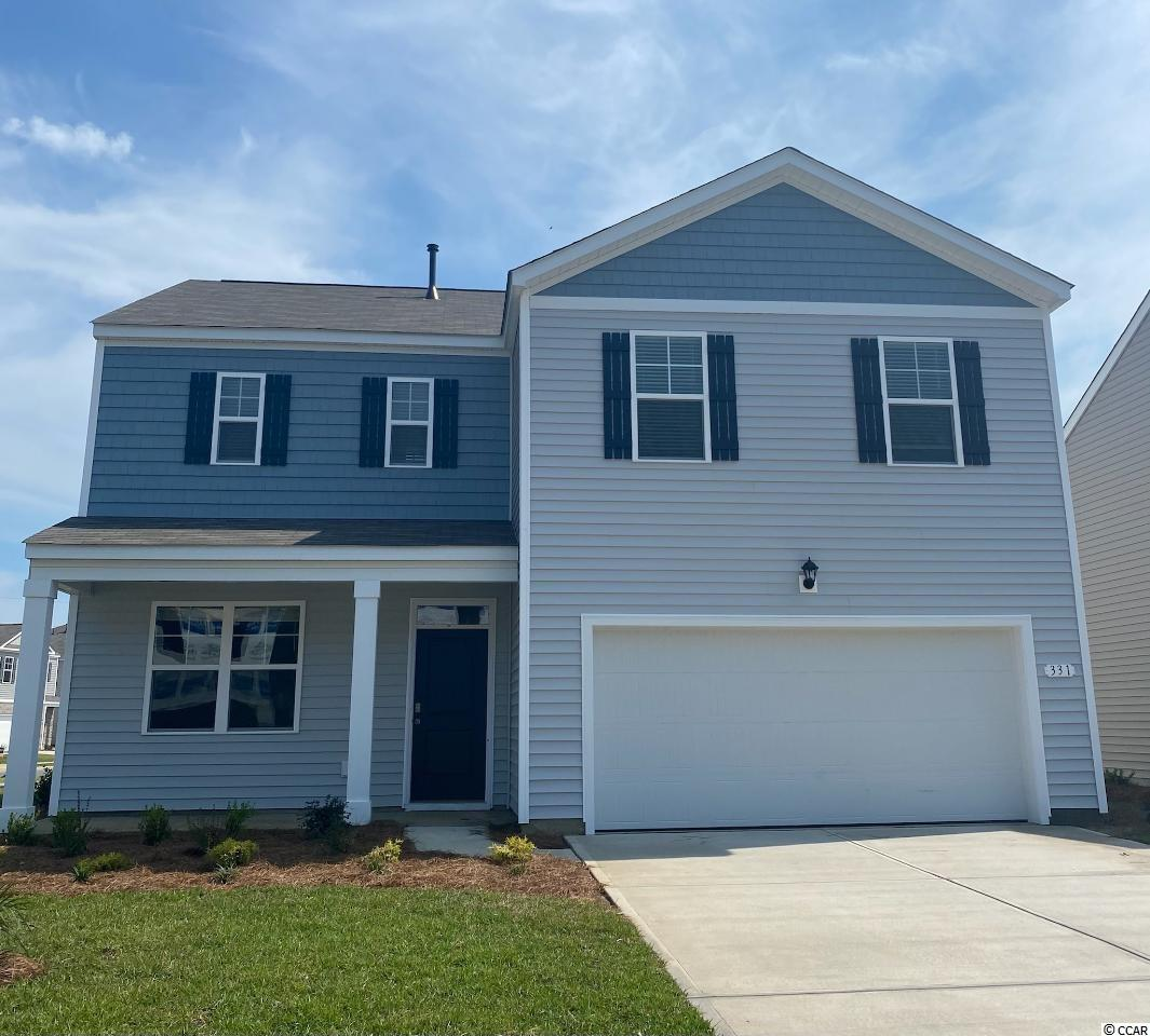 Oak Arbor is a brand new natural gas community conveniently located off of Highway 707 in Murrells Inlet close to shopping, schools, and the famous Murrells Inlet Marsh Walk. This spacious two-story home has everything you are looking for! With a large, open concept great room and kitchen you will have plenty of room to entertain. Large island with breakfast bar, stainless Whirlpool appliances, modern gray painted cabinetry, and a walk-in pantry. The first floor also features a great size flex room which could be used as a home office, formal dining room, or den. Your primary bedroom suite awaits upstairs with huge walk-in closet and private bath with double vanity, 5 ft. shower, and linen closet. The laundry room is also conveniently located upstairs near all of the bedrooms! This home is located on a spacious homesite and will also feature a front porch and water views from the rear patio. Tankless gas water heater and a two-car garage with garage door opener also included. It gets better- this is America's Smart Home! Ask an agent today about our industry leading smart home technology package that is included in each of our new homes.   *Photos are of a similar Galen home. (Home and community information, including pricing, included features, terms, availability and amenities, are subject to change prior to sale at any time without notice or obligation. Square footages are approximate. Pictures, photographs, colors, features, and sizes are for illustration purposes only and will vary from the homes as built. Equal housing opportunity builder.)