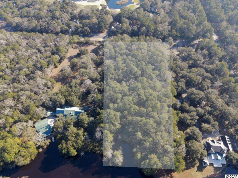 One of only 4 remaining Estate Homesites within the private gated community of DeBordieu Colony. At approximately 5 acres, this wooded lot provides a private and serene setting on which to build your Lowcountry dream home. Such a large site also allows room for a guest cottage, pool, expansive gardens, and more. Backing up to a large pond, the homesite offers tranquil views of nature all around. Even with the estate's private setting, thanks to its location, you are always just a short golf cart ride from DeBordieu's exclusive amenities. From the oceanfront Beach Club / miles of private beach, to the Clubhouse & Pete Dye golf course, to the community boat ramp, you are never more than a few minutes away from the Lowcountry's finest. A fitness and tennis center are also nearby.