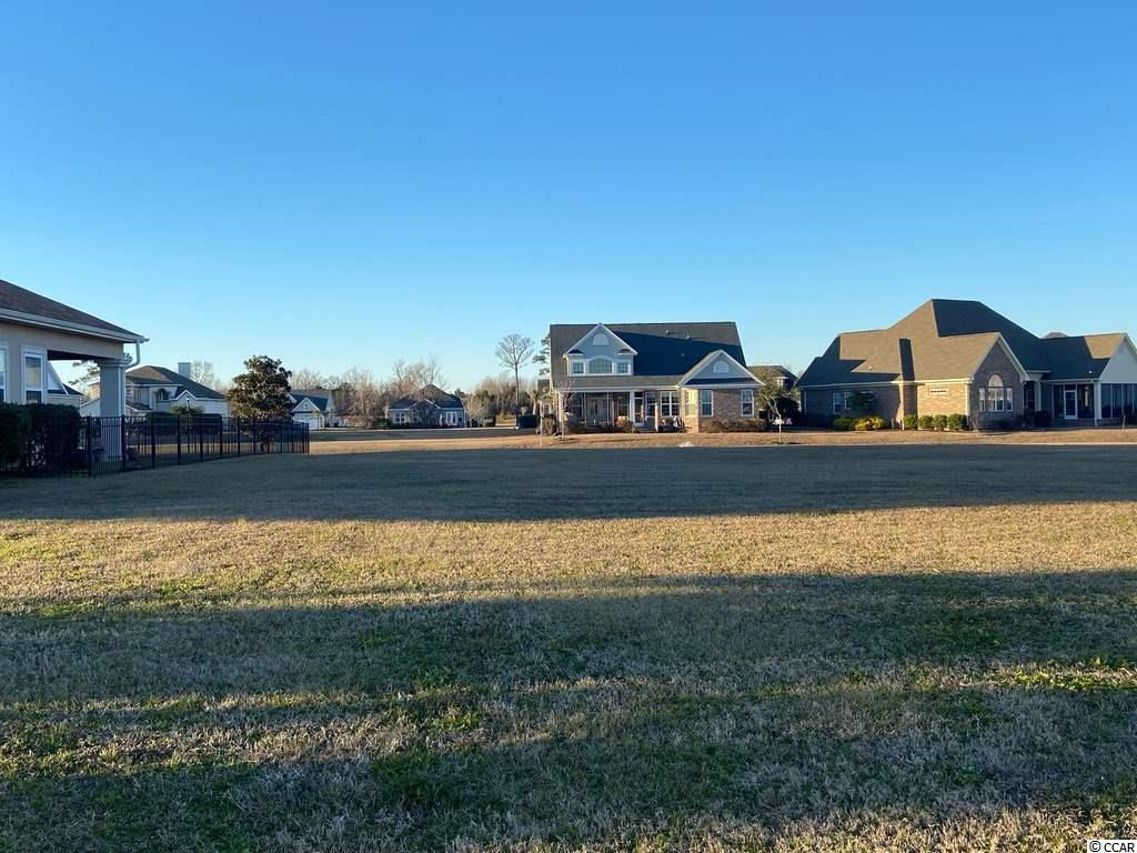 Great Water View Lot!  Carolina Waterway Plantation is a Gated Intracoastal Community.  Neighborhood Amenities include a Clubhouse, Outdoor Swimming Pool, Tennis, Children's Play Area, Gazebo, Boat Launch and Storage.  Minutes to our Beautiful Ocean Beaches, Restaurants, Shopping and Myrtle Beach International Airport.