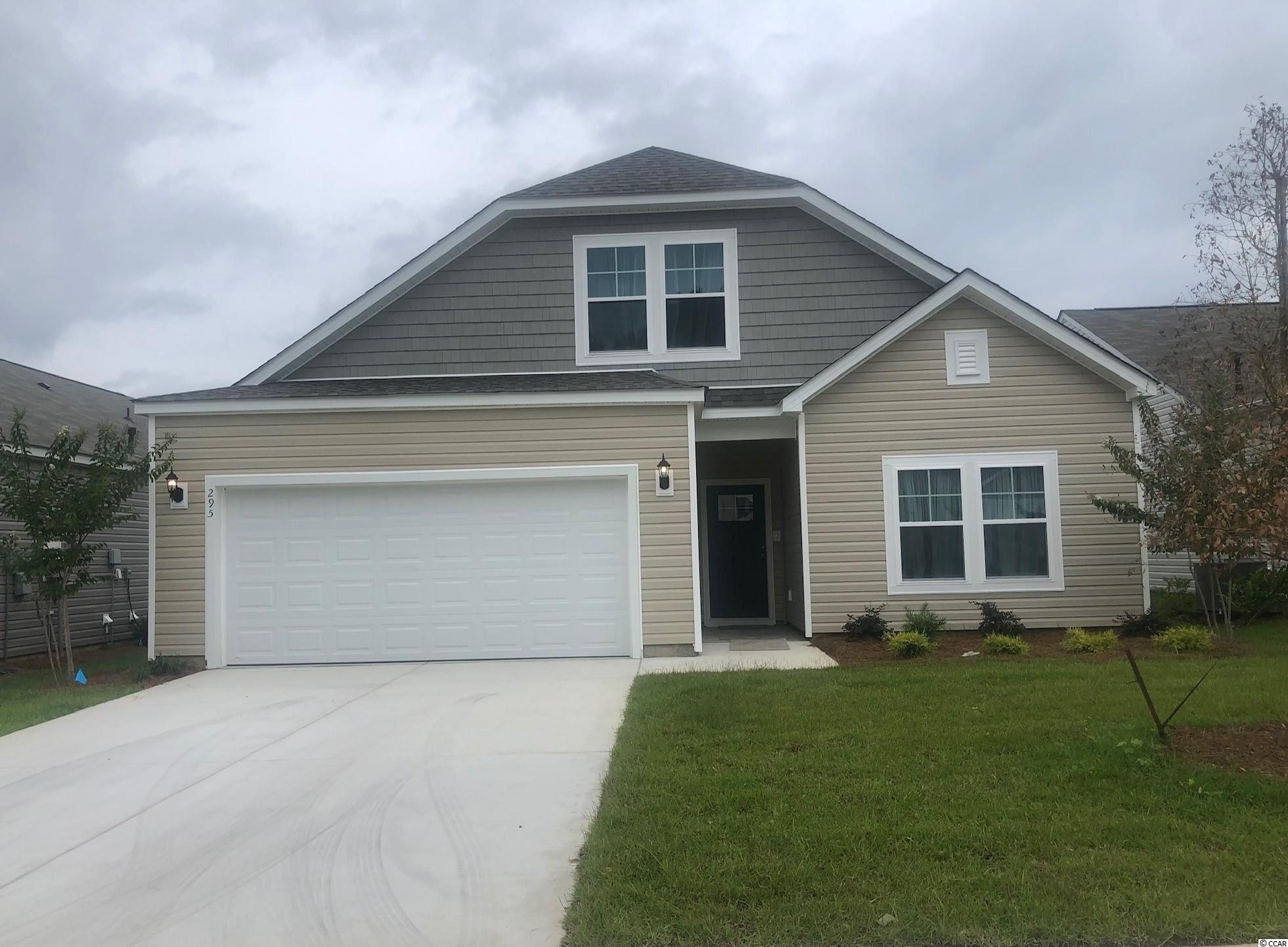 This is a To Be Built home.  Hampton Park is a natural Gas Community located on 707 near 544.  We are located minutes from beaches, shopping, golf, restaurants, medical facilities and more.  This is a small 80 home community this is a pond lot. The pool will be starting soon.  We are brand new and these are introductory prices. Come see us soon. This home features 3 bedrooms downstairs and a 4th bedroom, bath and loft upstairs.  Great for a guest suite!   *Photos are of a similar home and do not reflect color selections and options of actual unit for sale.*