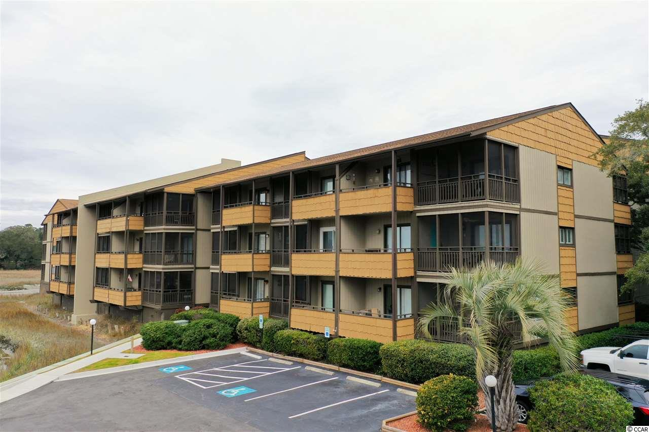 FULLY FURNISHED condo located in Mariner's Cove! This condo has a beautiful marsh views from both balconies. WALKING DISTANCE FROM THE BEACH! This unit has an actual HVAC, unlike some in Mariners Cove, they have wall units. Minutes away from shops, entertainment, golf, and restaurants that Myrtle Beach, SC has to offer. Buyer is responsible for all measurement verification.